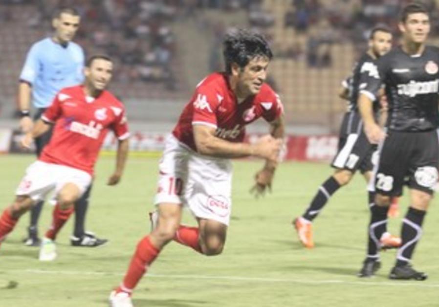 Hapoel Beersheba striker Elyaniv Barda.