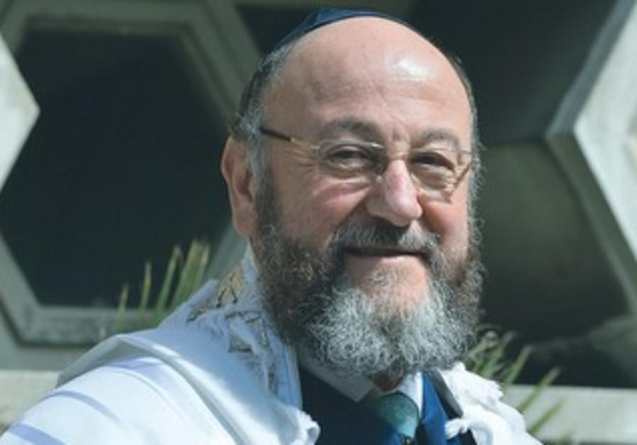 UK Chief Rabbi Ephraim Mirvis.