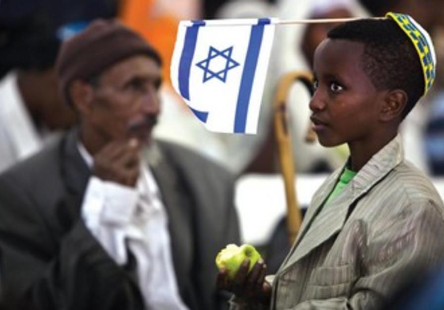 Les Ethiopiens symbolisent au mieux le miraculeux accomplissement annoncé par Jérémie.