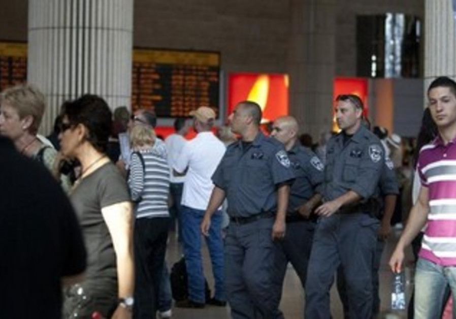 Israel Police at Ben-Gurion Airport [file]