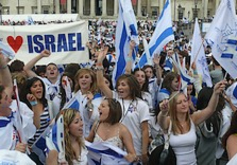 UK's first 'Salute to Israel' parade sweeps through London and Manchester