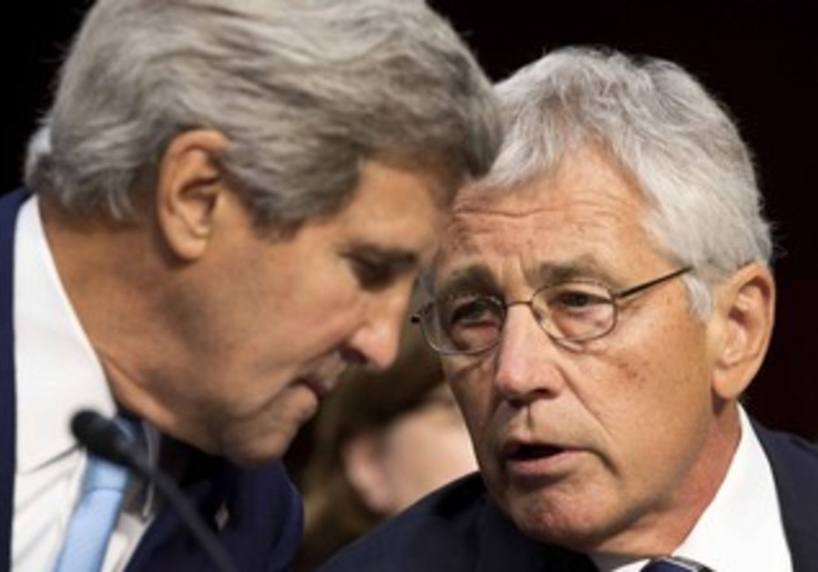 John Kerry and Chuck Hagel present the administration's case for Syria strike to Senate committee