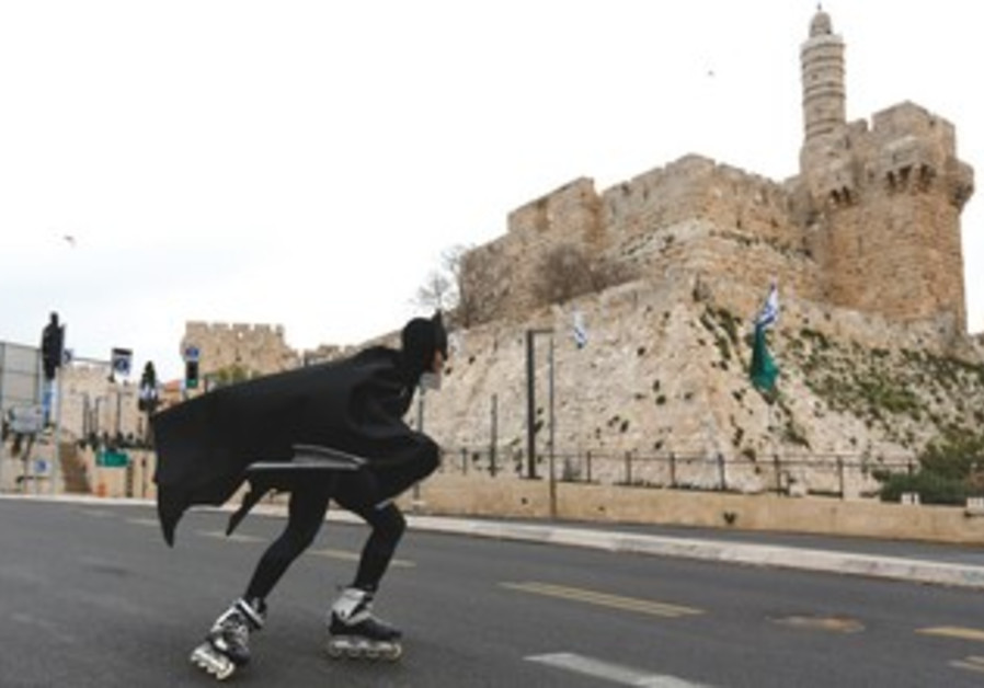 East is east and West is west, except in Jerusalem, where nothing is as it seems.