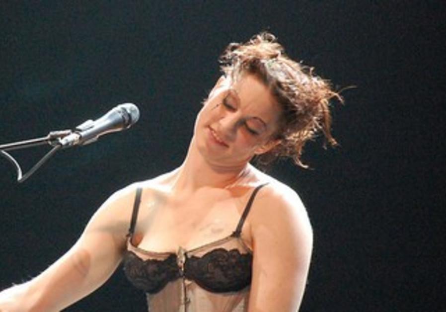 US singer Amanda Palmer