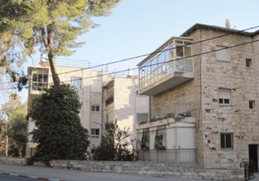 Stone houses in Jerusalem