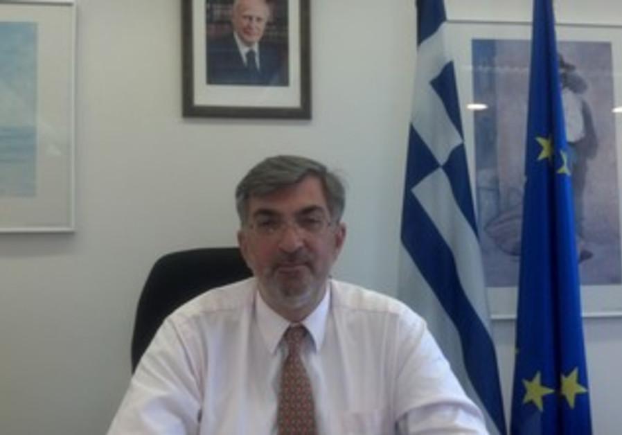Greek Ambassador Spiros Lampridis