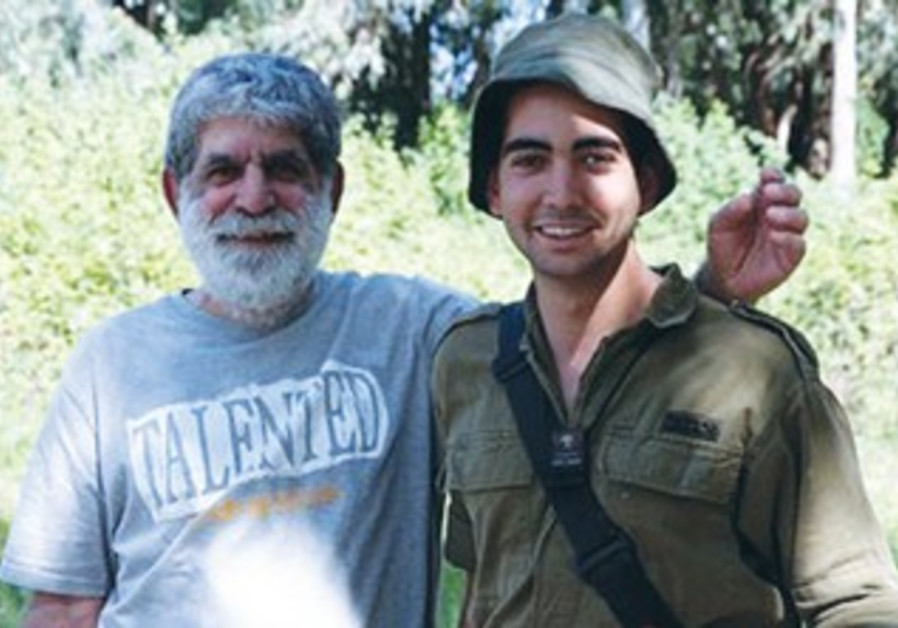DROR (LEFT) and Doron Sofer served in the same armored battalion.