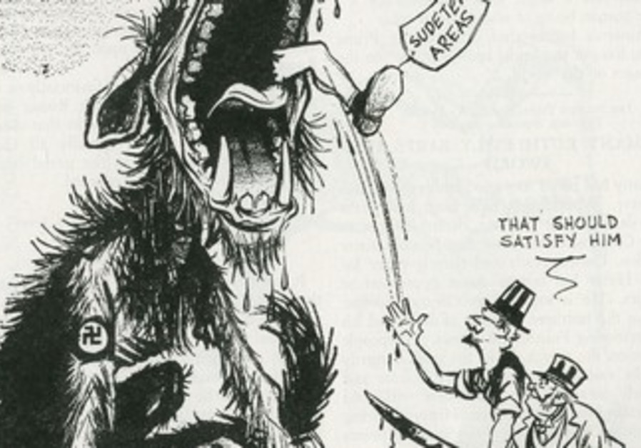 AMERICA'S CARTOONISTS confront the Nazis
