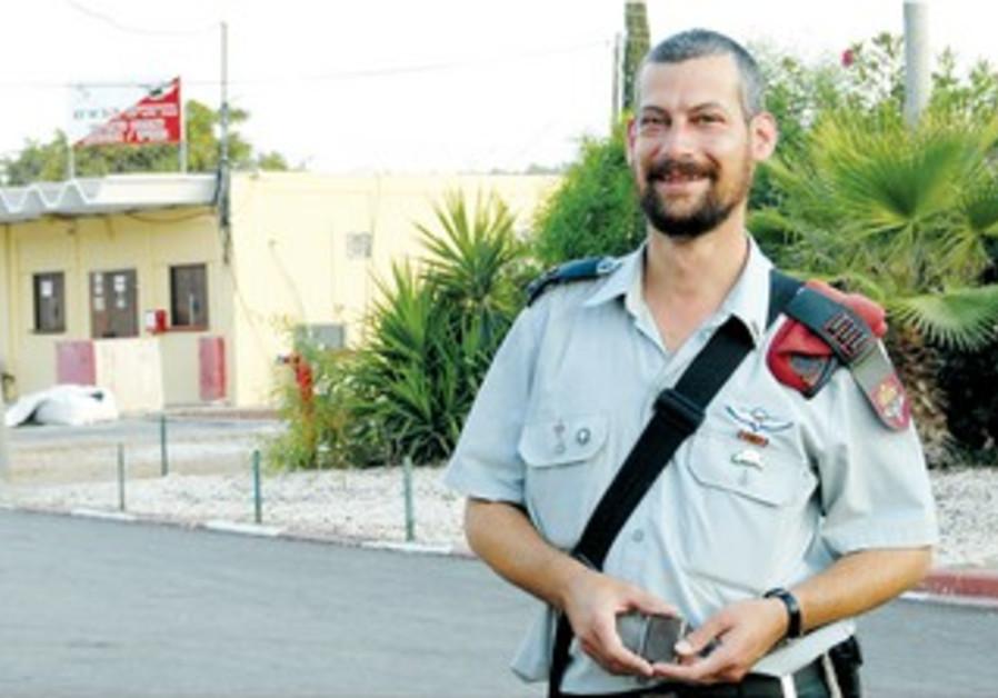 """""""Les Psaumes me protegent"""" confie le capitaine Moshe David Schwartz, rabbin au sein de Tsahal"""