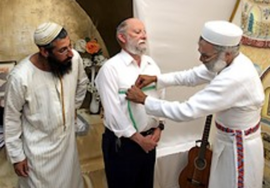 Third Temple preparations begin with priestly garb