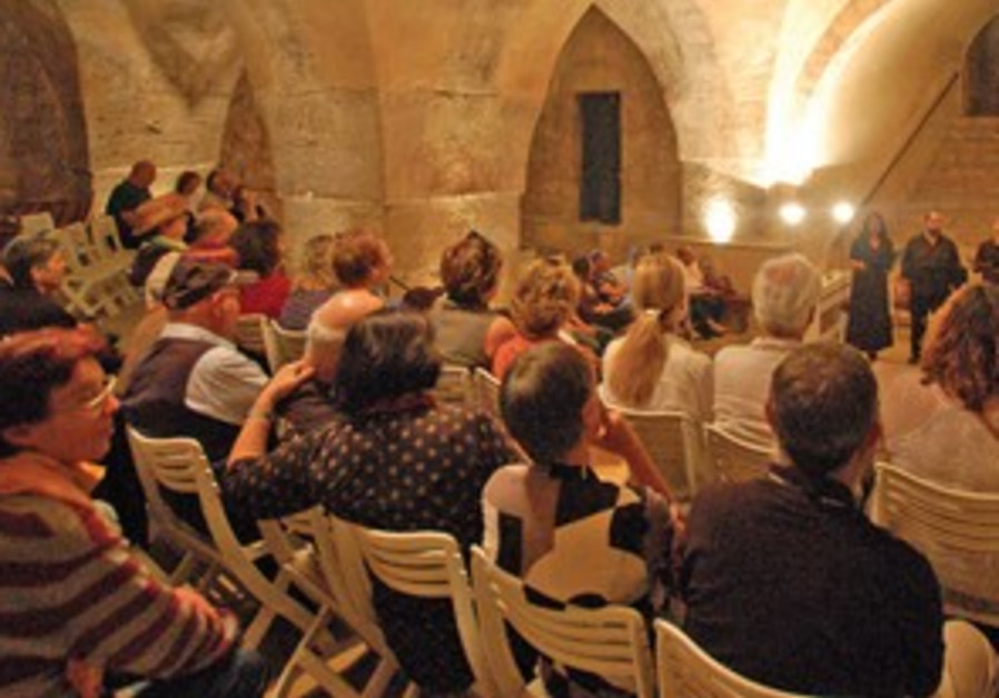 Vocal Music Festival in the village of Abu Ghosh