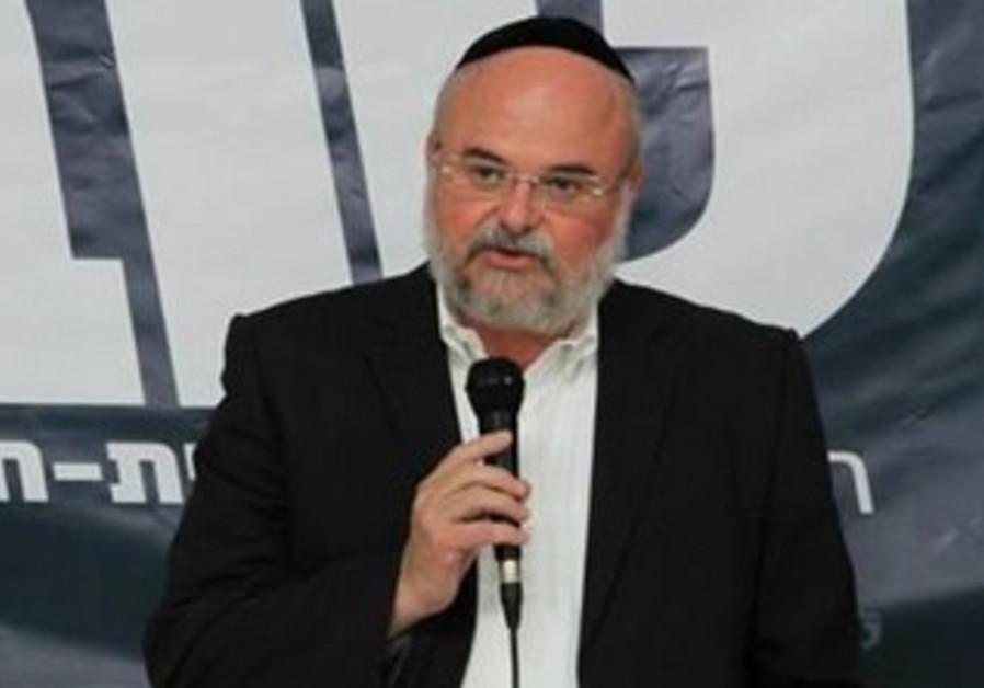 Tov party chairman Hanoch Verdinger.