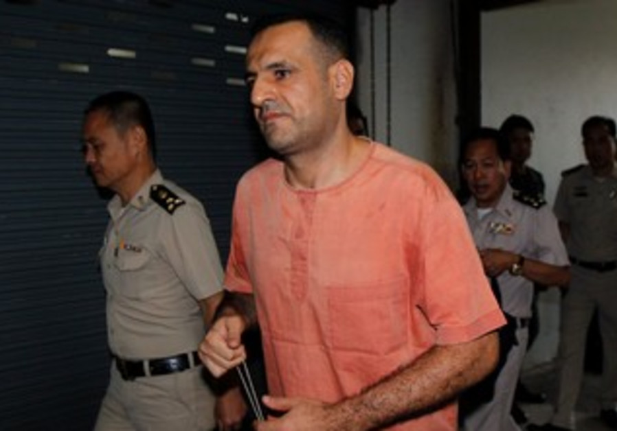 Atris Hussein, a Lebanese man suspected of planning a possible bomb attack.