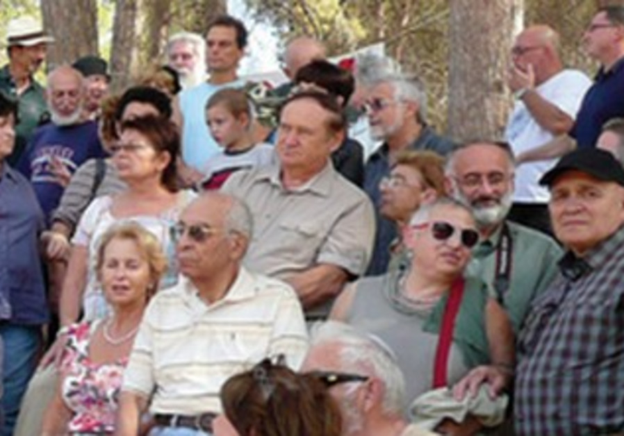 Succot gathering in the Ben-Shemen Forest, 2011