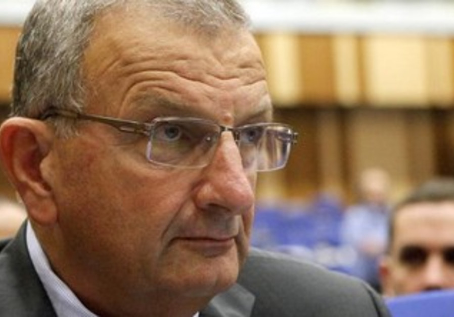 Shaul Chorev, director of Israel's Atomic Energy Commission [file].