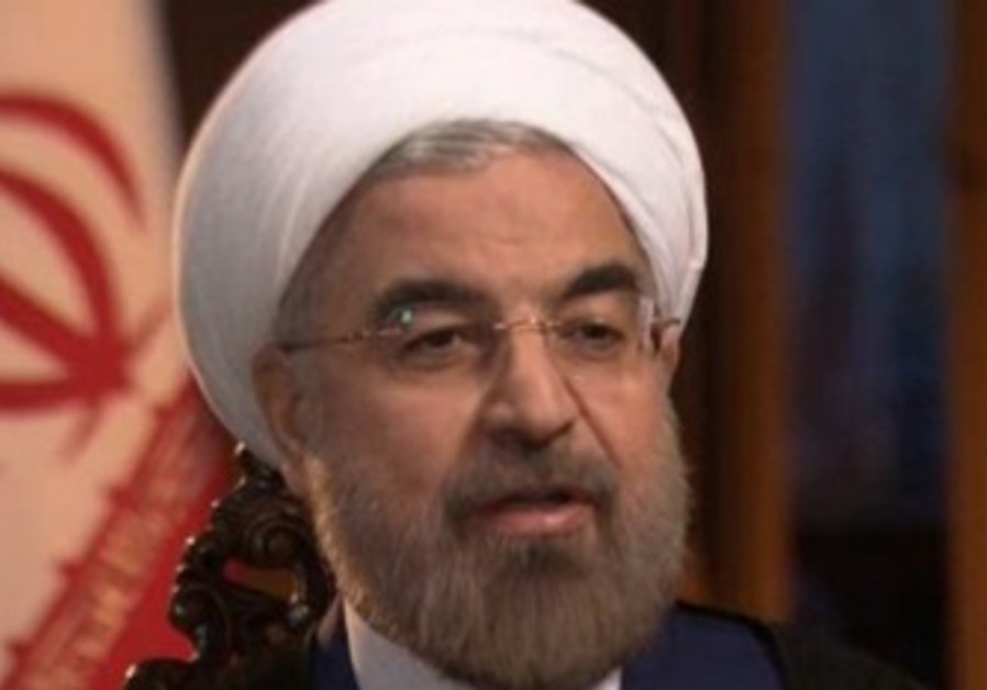 Iranian President Hassan Rouhani grants interview to NBC, September 18, 2013