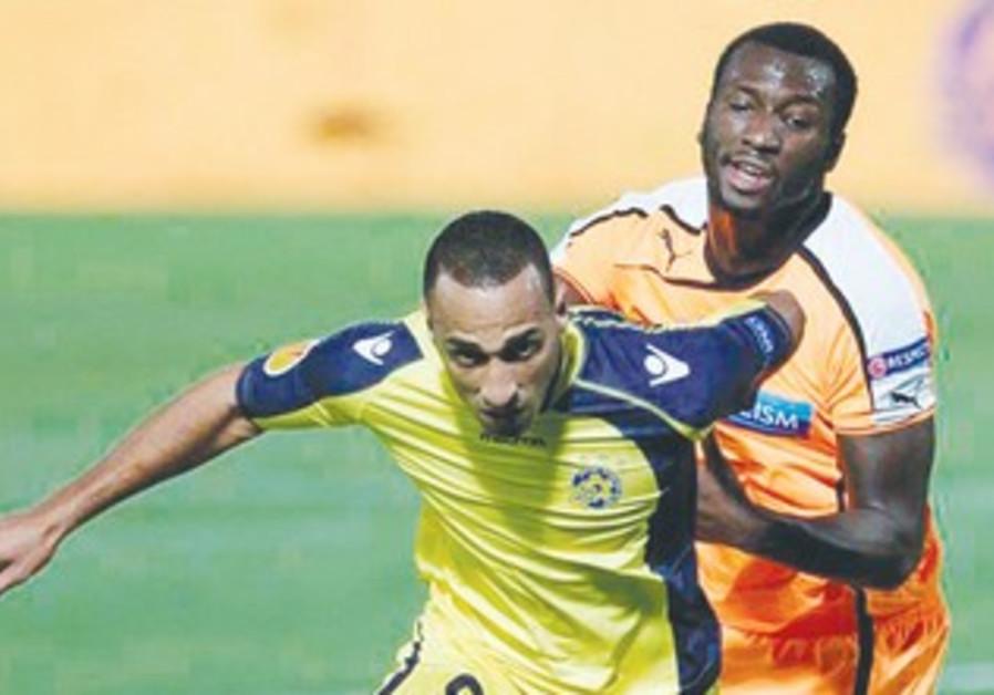 Maccabi Tel Aviv midfielder Maharan Radi