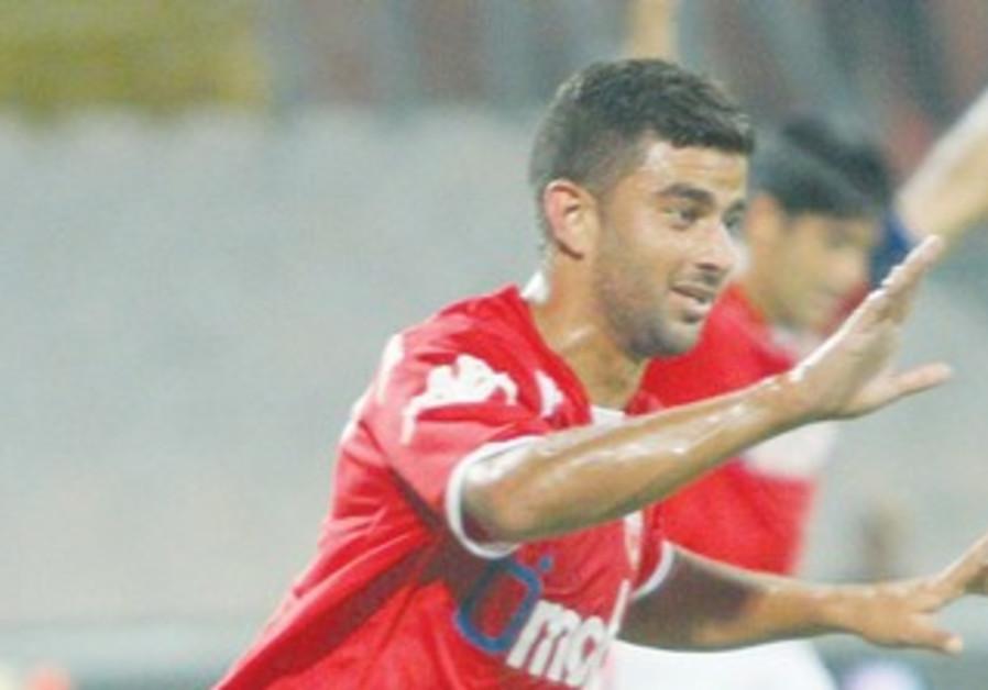 HAPOEL BEERSHEBA midfielder Siraj Nasar