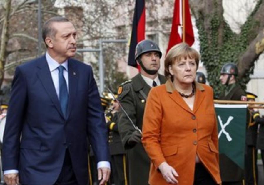 Erdogan and Merkel [file]