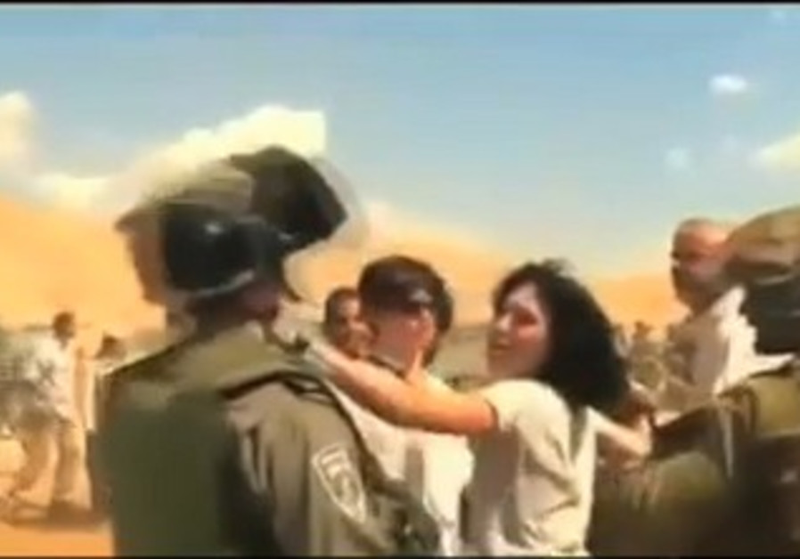 EU diplomat strikes IDF soldier in Jordan Valley, September 20, 2013