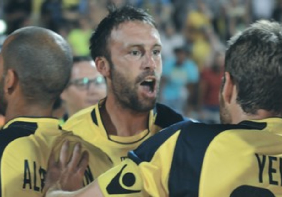 MACCABI TEL AVIV striker Rade Prica.