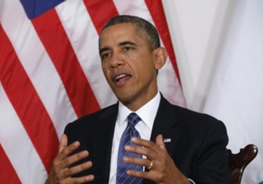 US President Barack Obama at the UN General Assembly, September 24, 2013.