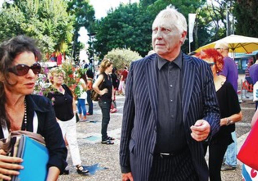 British director Peter Greenaway