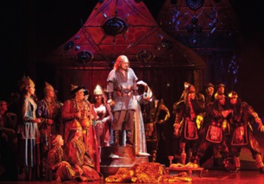 'Prince Igor' graces the stage of the Israeli Opera