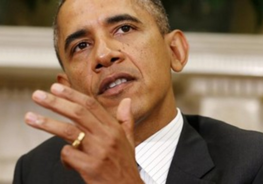 US President Obama addressing reports at White House, September 27, 2013.