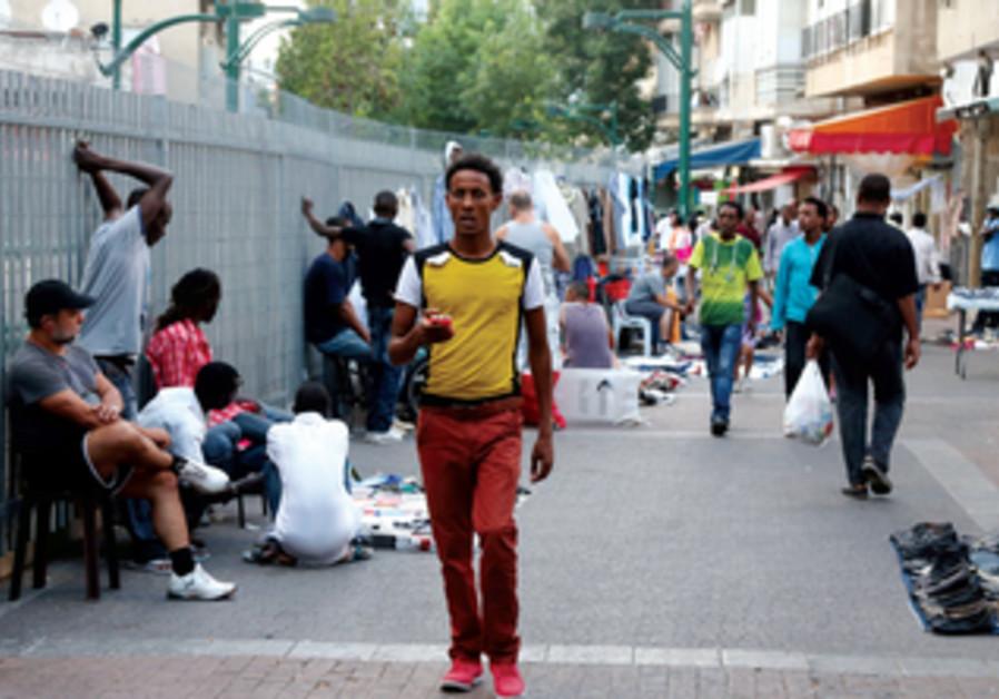 Près de 20% des habitants de Tel-Aviv sont des travailleurs migrants