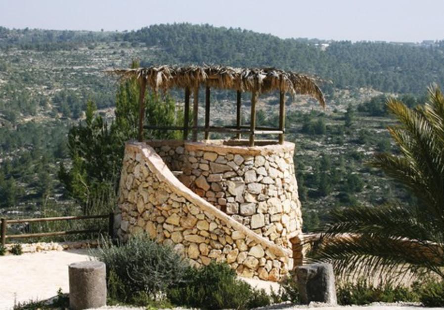 Yad Hashmona's watchtower
