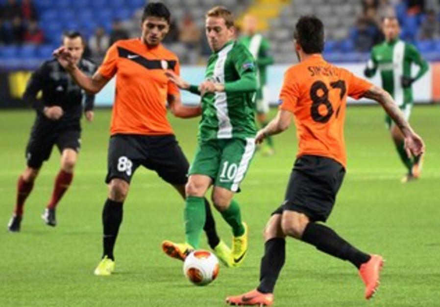 Maccabi Haifa's midfielder Rayo.