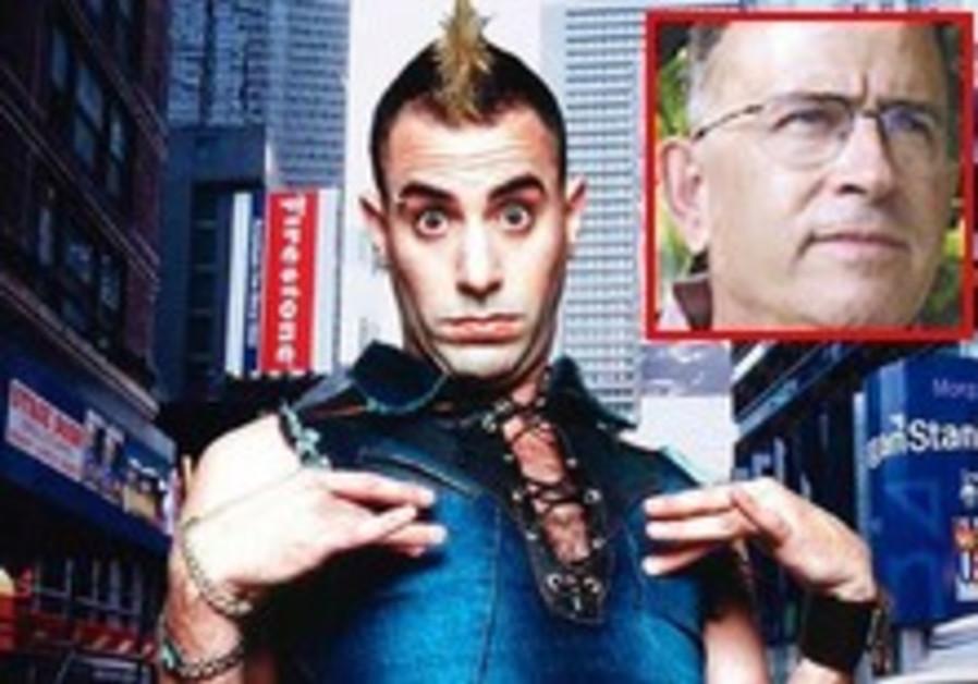 Borat's alter ego dupes a former Mossad agent
