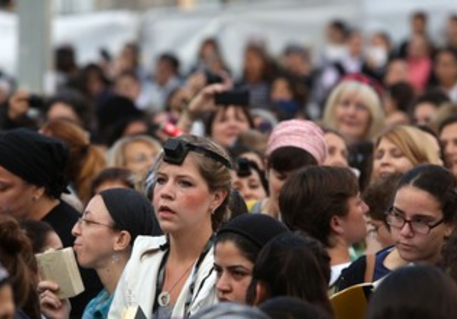 Women of the Wall, October 4, 2013.