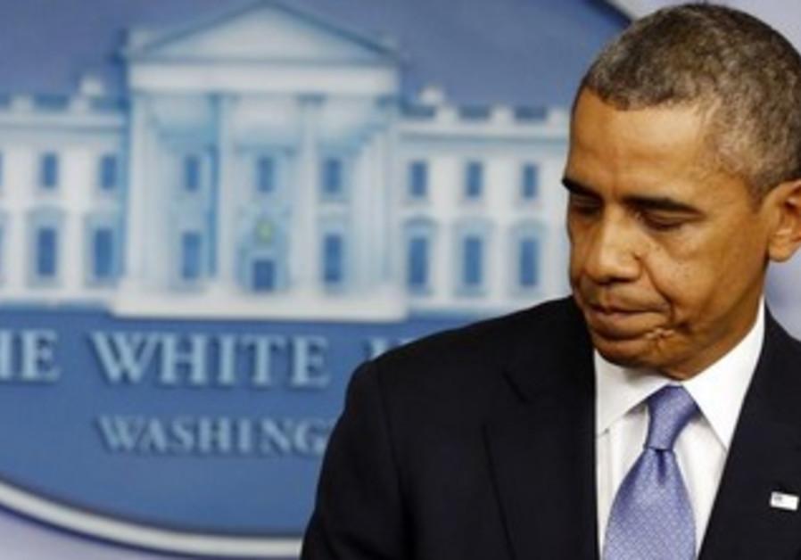 US President Barack Obama at the White House