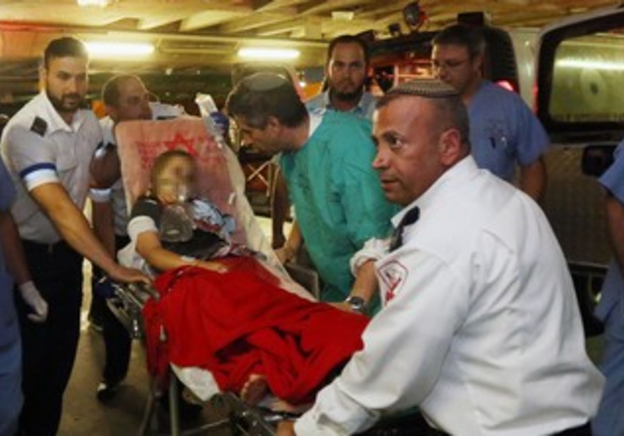 Nine-year-old Israeli girl wounded from gunfire in West Bank