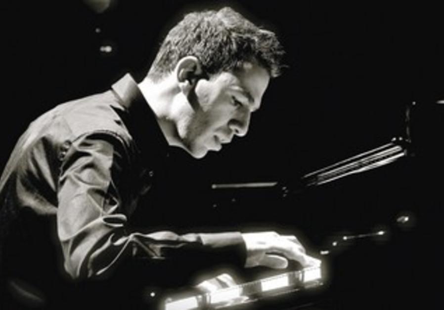 Israeli pianist Omer Klein.