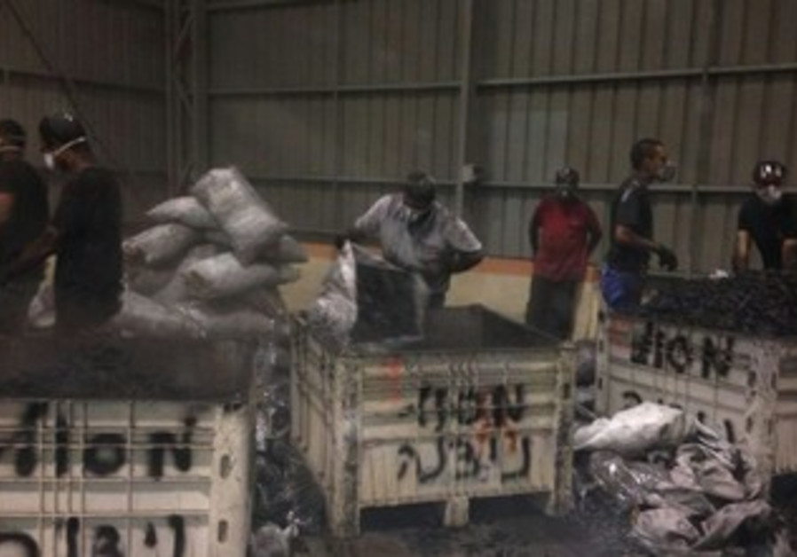 Drugs smuggled from Egypt
