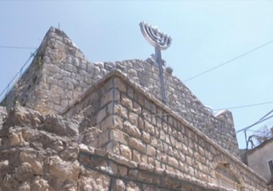 Peki'in village in northern Galilee