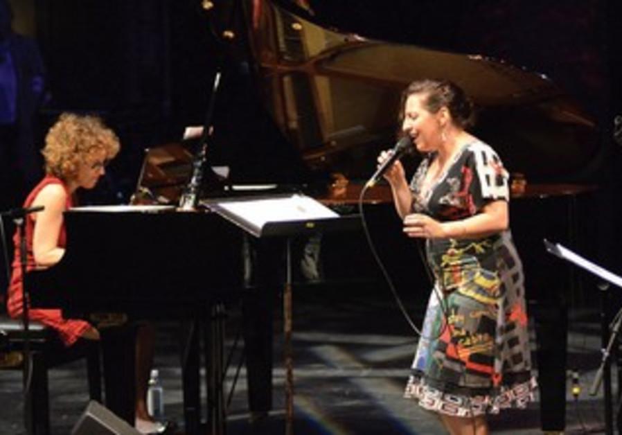 Israeli-born singer, Ayelet Gottlieb and pianist Anat Fort.