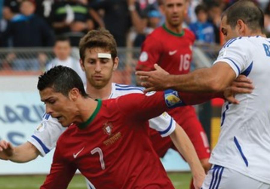 Ronaldo leads Portugal against Israel.