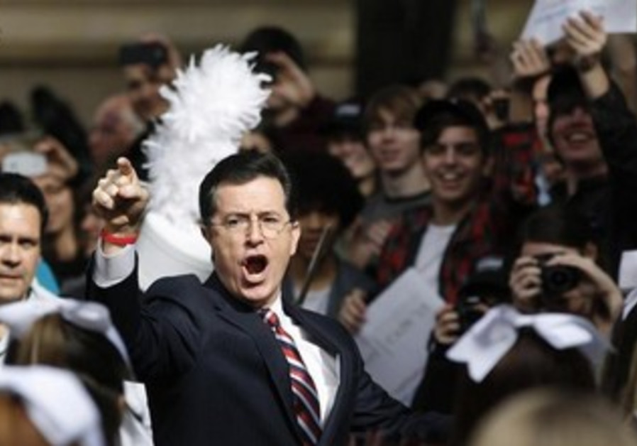 Actor and television host Stephen Colbert