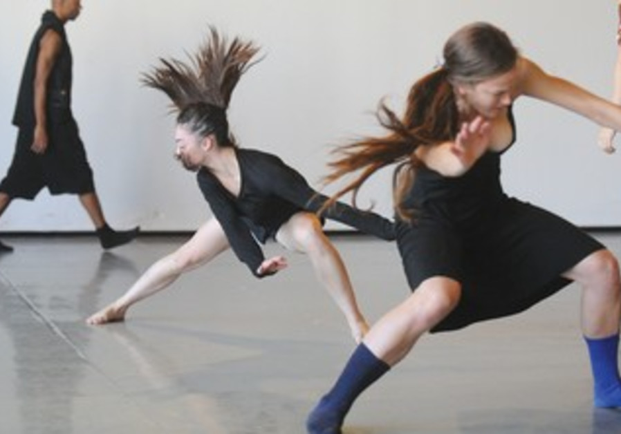 MEMBERS OF Batsheva Dance Company.
