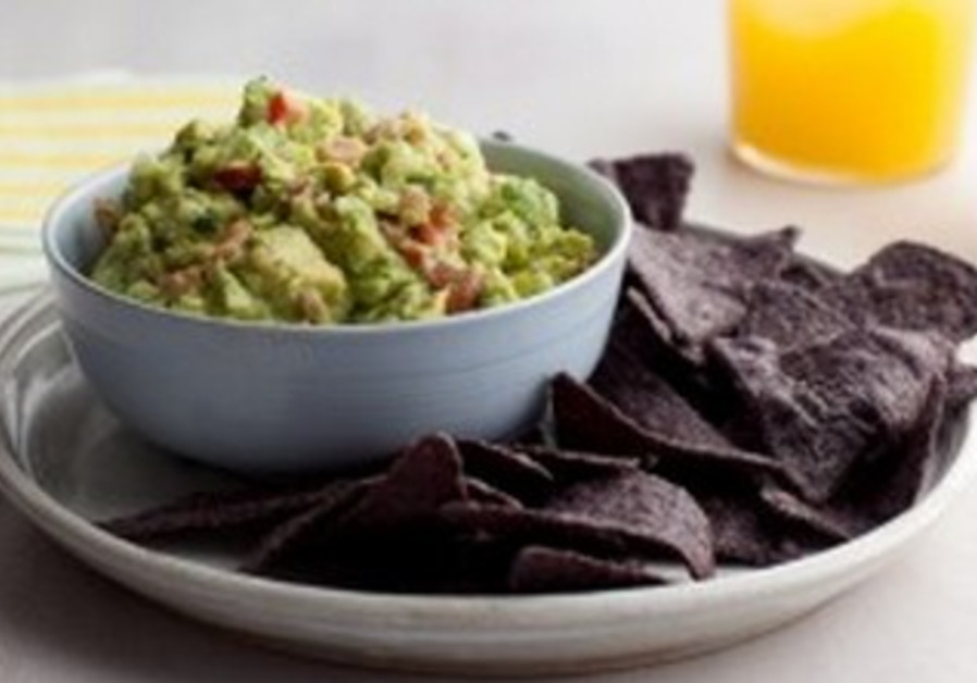 Imitation Crab Guacamole