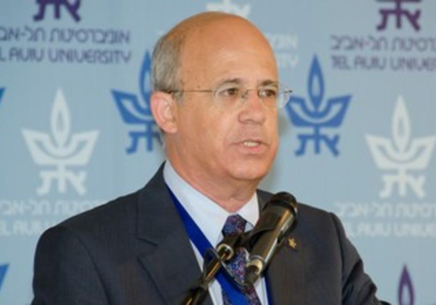 Tel Aviv University President Joseph Klafter
