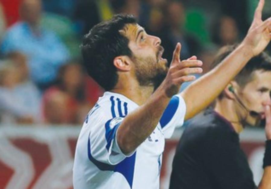 Israeli soccer star Eden Ben-Basat