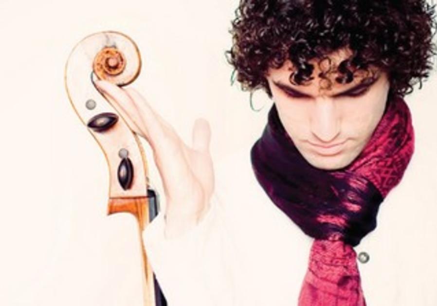 Gavriel Lipkind, Israeli Cellist based in Germany.