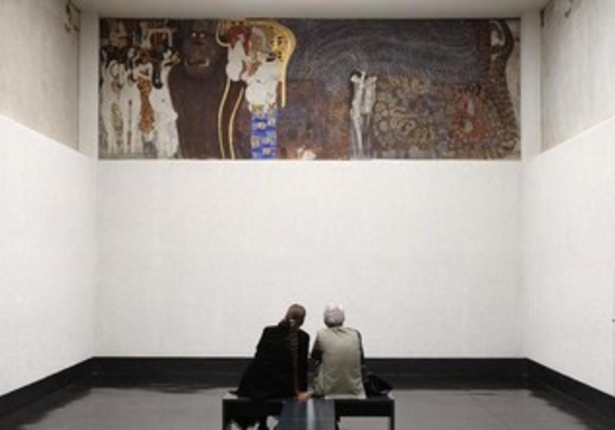 Gustav Klimt's Beethoven Frieze.