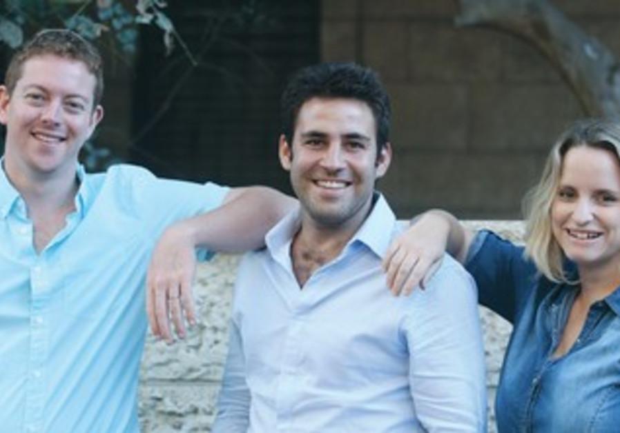 Hitorerut B'Yerushalayim party's Hanan Rubin, Ofer Berkowitz and Orly Jackson-Cohen.