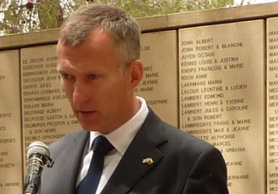 Lithuanian ambassador Darius Degutis.